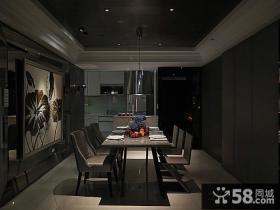 家装设计室内餐厅吊顶图片