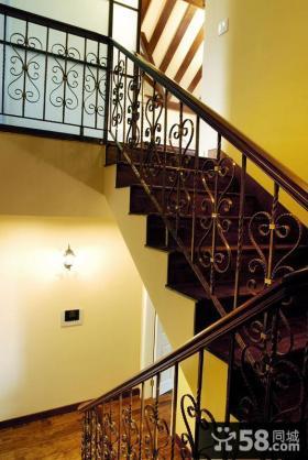 室内复式楼梯装修效果图大全