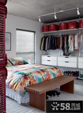 简约卧室床尾凳图片大全
