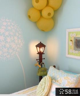 卧室橙色灯具装修效果图大全