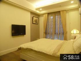 典雅现代风格三居卧室装修图片