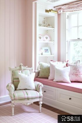 2013客厅拐角卧室飘窗设计