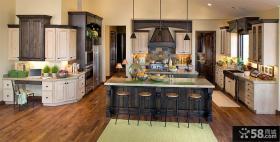 简欧风格家居别墅整体厨房装修