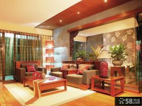 中式古典装修客厅图片