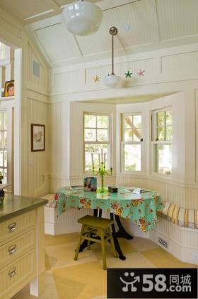北欧清新的小复式客厅装修效果图大全2014图片
