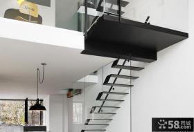 家庭设计复式楼梯效果图欣赏