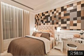 时尚小卧室壁纸装修效果图