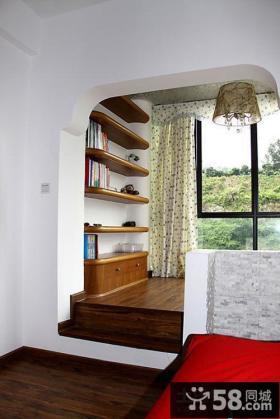 客厅阳台装修效果图 中式阳台装修效果图大全2012图片