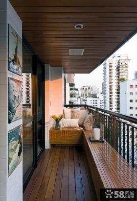 6平米现代风格家居阳台装修