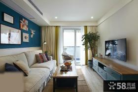 地中海风格客厅装修效果图大全图片