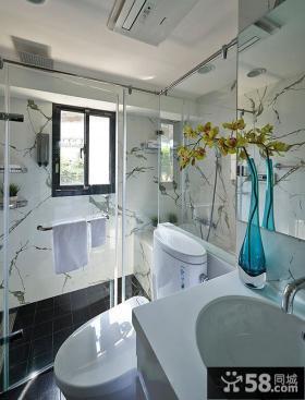 简约式家装卫生间设计2014