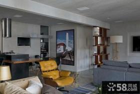 现代风格客厅吊顶装修图