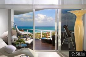 现代简约欧式风格休闲区设计图片