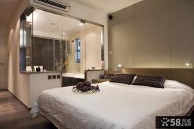 简约小户型主卧室装修效果图大全2012图片