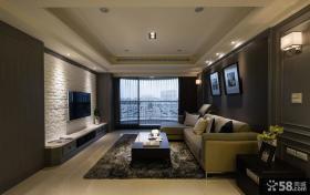 美式风格120平米公寓简装修图片大全