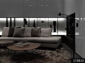 后现代风格三室两厅设计效果图欣赏大全