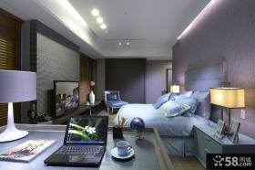 现代家居卧室设计效果图2014