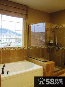 现代家庭装修风格 卫生间效果图