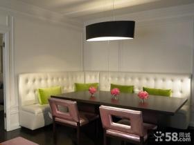 客厅餐厅吊顶装饰效果图