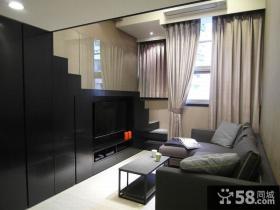 现代小复式家居装修展示