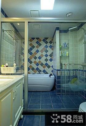 田园风格美式装修设计卫生间