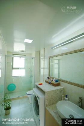 现代室内卫生间装修设计图片大全