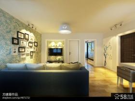 整体客厅电视背景墙装修效果图欣赏