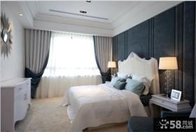 欧式三居主卧室装修效果图大全2013图片