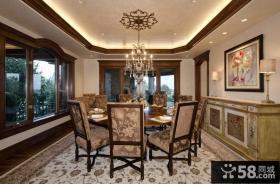 经典美式风格装修效果图客厅图片
