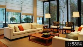 中式古典客厅别墅装修效果图大全欣赏