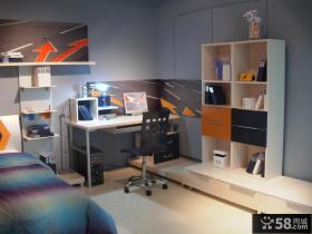 现代简约儿童房间布置效果图