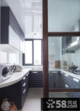 现代整体厨房装修效果图大全