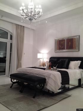 简约欧式卧室灯具设计图片