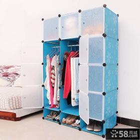 家装组合衣柜效果图