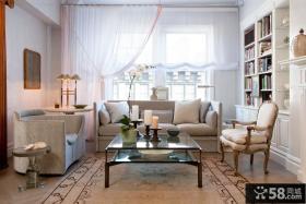 简约欧式客厅装修效果图大全2013图片欣赏