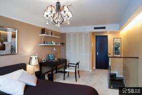 复式楼二层卧室装修效果图