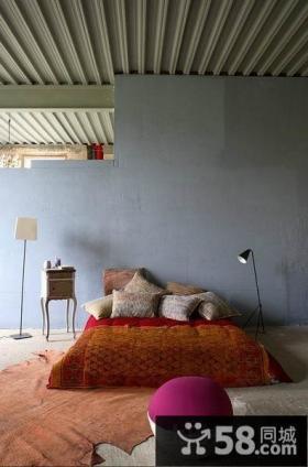 西班牙艺术家创意复式楼卧室装修效果图大全2012图片