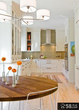 优质小户型开放式厨房装修效果图