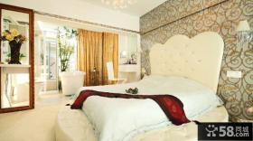 现代欧式复式户型卧室装修设计