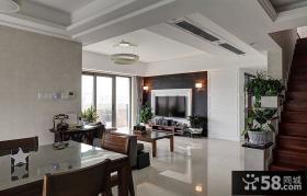 现代时尚复式家居装修设计
