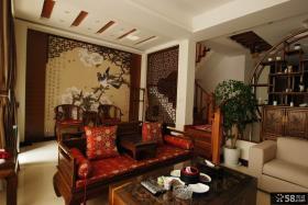 豪华古典中式客厅装修布置