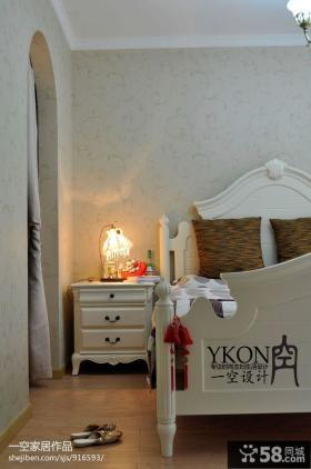 简约欧式卧室装修效果图大全2013图片欣赏