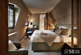 美式风格复式家居实木门设计效果图