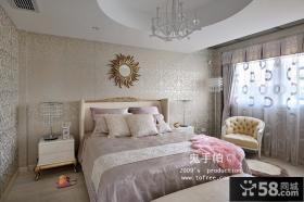 欧式卧室装修效果图 卧室吊顶装修效果图