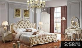 欧式风格卧室梳妆台图片