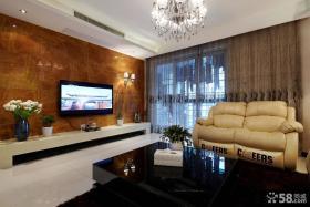 家装室内设计客厅电视背景墙图片欣赏