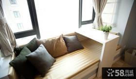 卧室飘窗装修效果图大全2013图
