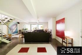 2012时尚别墅客厅装修效果图