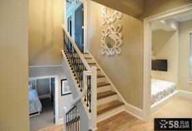 欧式风格室内楼梯扶手图片