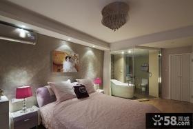 时尚温馨现代卧室装修实例